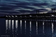 Muelle de RioTintoCompanyLimited (Julin Ro Di) Tags: muelle muelledeltinto huelva horaazul sonyilca77 1650ssm agua