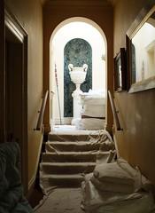 Abandoned Corridor? (John of Witney) Tags: corridor stairs abandoned urn hintonampner nationaltrust nt hampshire