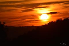 Sunset (Kevin Bitry) Tags: sun sunset coucherdesoleil soleil sol sole orange merdesoleil magic beautiful nice sexysun laufental d3200 d32 d32d nikond3200 nikon kevinbitry kevin keke kequet kequetbibi kequetbitry nuage art artistic artistique
