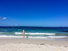 Contemplating going in (petes_travels) Tags: hyams beach jervis bay australia new south wales