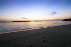 Sea and Sand divided (Mario Ottaviani Photography) Tags: sony sonyalpha sea seascape dawn alba italy italia paesaggio landscape travel adventure nature scenic exploration view vista breathtaking tranquil tranquility serene serenity calm walking sand divided