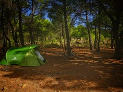 Bike weekend ... relax and continues..! (panoskaralis) Tags: bike biking bikes cycling green tree trees pine forest wood mountain mountains nature camping outdoor landscape lesbos lesvosisland lesvos island mytilene greece greek hellas hellenic aegean aegeansea plant