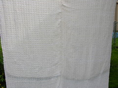 cotton blanket (sandySTC) Tags: weaving weave ashfordrigidheddleloom rigid heddle loom ashford cotton 5dent handwoven