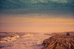 Missing the beach (Mariano Colombotto) Tags: pinamar beach playa sunset atardecer sand arena cielo sky nubes clouds sea mar summer verano nikon vacaciones holidays vacations travel travelphotography tourism turismo argentina infinitexposure