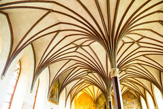 141018 marienburg gewlbe 2 p1070309 (u ki11) Tags: flucht geometrie gewlbe gotik groserremter marienburg strahlen sule