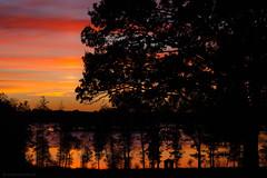 the lake house (outdoorstudio) Tags: silhouet silhouette sverige landscape sunset solnedgang farver outdoorstudiodk jettewfrederiksen sweden colors lake s jetteoutdoorstudiodk landskab