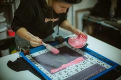 (ニノ Nino) Tags: ai nikkor 50mm f12 s film 35mm 35 mm analog manual dof bokeh depth field 50 f12s canon nikon screenprint screen print tshirt printing silk silkscreen