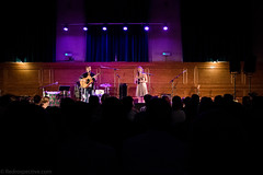 Sorren Maclean (redrospective) Tags: 2016 20160914 cecilsharphouse hannahjames london september2016 sorrenmaclean audience black blue concert crowd curtains duet duo electroacousticguitar fans gig guitar guitarist live profile purple silhouette spotlights