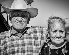 Cowboy and Wife (mightymuffinful) Tags: portrait esposa vaquero rancher espousa santiago wife caballo country eyes femme kone couple cowboyhat people husband cowboy