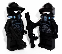 Shadow ARF Troopers (OB1 KnoB) Tags: lego star wars mini minifig minifigure minifigurine fig figure figurine custom customs arf arc shadow troopers trooper soldat clone clones theclonewars shadowarftrooper