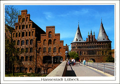 postcard - from sarahamina, Austria (Jassy-50) Tags: postcard postcrossing lbeck luebeck lubeck germany unescoworldheritagesite unescoworldheritage unesco worldheritagesite worldheritage whs