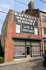Raftery Poultry Market (jschumacher) Tags: virginia petersburg petersburgvirginia ghostsign