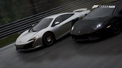 Speed (N_mber9) Tags: forza spa racing rain motorsport mclaren lamborghini p1 aventador