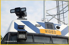 Dutch Police MB 614D. (NikonDirk) Tags: me mobiele eenheid 614 mercedes benz politie police nikondirk netherlands sprinter holland dutch nikon cop cops hulpverlening riot utrecht ut bratra traangas video teargas brand foto brdt35 blnh24