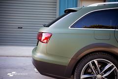Audi A6 Allroad Matte military Green & Ceramic PRO (DUP_Automotive) Tags: audi a6 allroad quattro militarygreen wrap carwrap carwrappinguk ceramicpro ceramicproengland southampton uk hampshire monsterwraps vag v6 offroad