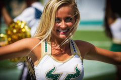 Tampa '16 (R24KBerg Photos) Tags: usf southflorida tampabay tampa florida bulls danceteam pretty blonde smile eyes cheer cheerleaders cheerleader 2016 canon americanathleticconference aac raymondjamesstadium collegesports beauty sundolls