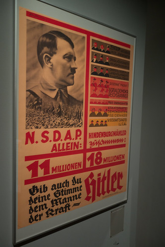 Nazi election poster
