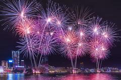 Tamar Park (mikemikecat) Tags:  tamarpark cityscapes nightscape night  urban   hongkong  sonya7r sel2470z  victoria harbour fireworks mikemikecat