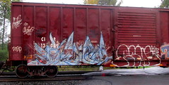 (timetomakethepasta) Tags: freight train graffiti art boxcar cirr forgive chicago