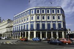 Hotel Telegrafo (Lloyd Hunt) Tags: cuba havana holiday travel nikon d7100 hotel telegrafo cars road street old historic