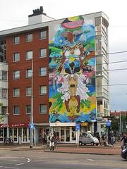 DEDABLIO (streamer020nl) Tags: amsterdam 2016 111016 11oct16 holland nl nederland netherlands niederlande paysbas urban art reflexo brasil dedablio rua insulindeweg oost mural wallpainting streetart amsterdamoost