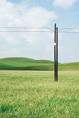 Tranquility (Picocoon) Tags: landscape grassland pole vast wide open nature tranquil tranquility serene space empty prairie gansu gannan china travel