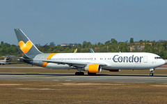 D-ABUZ (Geovanne Guimarães) Tags: b763 b767 condor boeing airplane aviation spotting picture 767 rwy 28