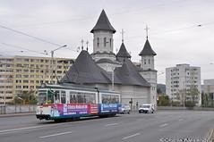 GT4 #108 @Pasajul Alexandru cel Bun, Iasi (Chirila Alexandru) Tags: gt4 tram tramway iasi moldova city public transport ratp regia autonoma persoane
