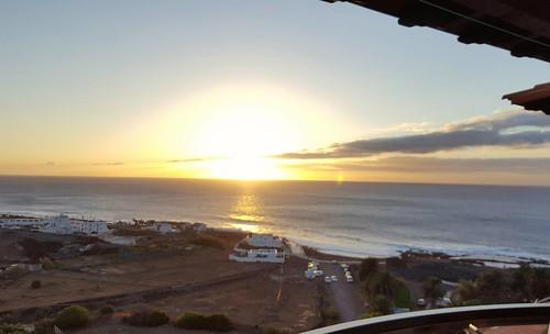 sunset at the Atlantik