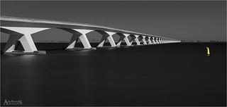 Zeeland Bridge, Netherlands (explored)