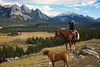 """""""Earth To Earth, Ashes To Ashes, Dust To Dust"""" (cowgirlrightup) Tags: ridge inmemoryofgreg whatagreatsendoff gregssister myfriend nosadnesshere 40d cowgirlrightup alberta canada"""