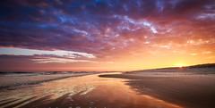 Sunrise Ameland (Jacco van der Zwan) Tags: sunrise ameland sea beach sky clouds colours morning sun