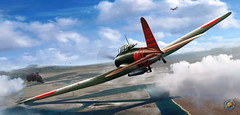 Pearl Harbor. December 7th 1941. First Wave. B5N2 'Kate' flown by Lt. Mitsumori Suzuki from the aircraft carrier Kaga, painting by Ron Cole (ColesAircraft) Tags: pearlharbor japanesenavy wwii ww2 kaga kate b5n b5n2 roncole pacificwar aircraft aviation art