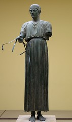 Charioteer of Delphi (geldenkirchen) Tags: delphi sculpture antique