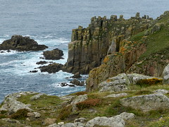 Cliffs (Ramona H) Tags: landsend cornwall england cliff cliffs granite sea ocean atlanticocean seaside