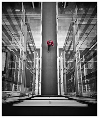 Another day another struggle (alte_petze) Tags: schwarzweis white black colourbash colorkey iphone7 architektur architecure perspective art power 007 agent agend fbi cia polizei politik politics berlin struggle