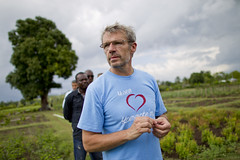 Visit of Lambert Wilson (United Nations Stabilization Mission In Haiti) Tags: ecology haiti un unitednations environment environnement ecologie ayiti minustah lambertwilson peaceembassador