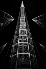 Apogee (Charlie Pryor Photography) Tags: blackandwhite bw building photography fineart creative structures australia landmark belltower perth wa inverse westernaustralia architectual fineartphotography placeofinterest structurescityscape fineartarchitectualphotography fineartarchitectualbwphotography