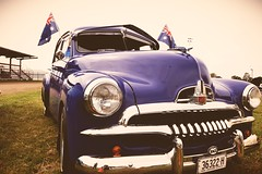 An old Holden at a car show (Matthew Waters) Tags: show old blue car vintage nikon australian australia icon holden australianicon uploaded:by=flickrmobile flickriosapp:filter=nofilter