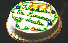 Dominican Cake :) (Dre@m Maker) Tags: birthday grandma people beautiful cake dominicanrepublic beautifulpeople