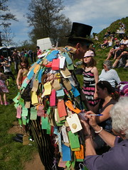The Wish man (rospix) Tags: uk people festival costume spring colours shropshire may mayday pagan greenman clun wishing beltane 2013 wishman clungreenmanfestival rospix