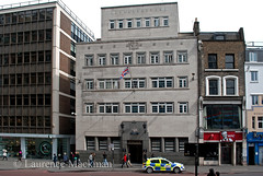 BishopsgatePoliceStation 226 E W (laurencemackman) Tags: england london architecture modern walk towers c20 cityoflondon financialcentre chrisrogers twentiethcenturysociety c20society ianmcinnes newmembersevent previousevents