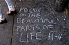 Sidewalk therapy: focus on the beautiful parts of life (proof_by_contradiction) Tags: life beautiful chalk focus shoes fav50 parts philosophy sidewalk fav25 fav100 fav200 fav150 fav75 fav125 fav175 focusonthebeautifulpartsoflife