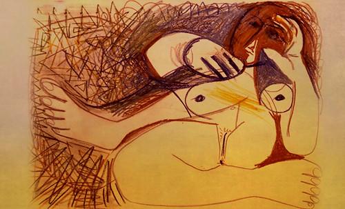 "Majas, homenajes de Francisco de Goya y Lucientes (1802), Eugéne Delacroix (1826), Amadeo Modigliani (1916), Pablo Picasso (1906), (1931), (1959), (1964). • <a style=""font-size:0.8em;"" href=""http://www.flickr.com/photos/30735181@N00/8747971126/"" target=""_blank"">View on Flickr</a>"