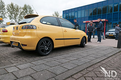 SO Meeting Vander Velden Benthuizen 18-05-2013 (ND-Photo.nl) Tags: andy sport yellow silver photo nikon mod raw oz seat forum meeting turbo ibiza leon doctor altea nd tune nikkor tuning modding geel meet 1p afs 1m 18t dokter bbk dealer tsi vandervelden cupra d300 6k fotograaf zilver 6l 1755mm topsport vdv bigbrakekit 2013 benthuizen tfsi 20vt tarox ramdin ndphoto exeo 6k2 ndphotonl deuken someeting lc180