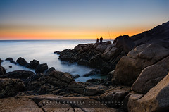 Fishing in Donon (Daniel Chapela) Tags: estrellas nocturna cabohome donon ofacho largaexposicin