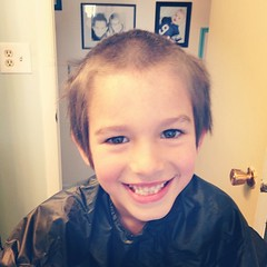 He said he wanted to look like Grandpa Dave! #during #summershave #hesacomedian (Ledwards07) Tags: square squareformat lordkelvin iphoneography instagramapp uploaded:by=instagram