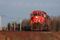 DMIR 402 (binsiff) Tags: minnesota cn ore canadiannational dmir emd tunnelmotor sd40t2 oretrain allenjct