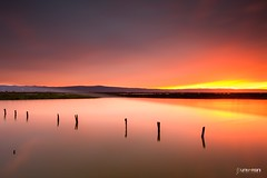 Alviso Marina Sunset (universini) Tags: california longexposure sunset sky reflection slr water colors canon reflections landscape slowshutter bayarea canon5d alviso sini mandya alvisomarina leefilters universini siddegowda nidagatta