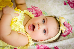 M. V (McGyverRT) Tags: baby cute pretty child blueeyes adorable babygirl blond littlegirl criana lovely beautifuleyes prettygirl d5100 nikond5100